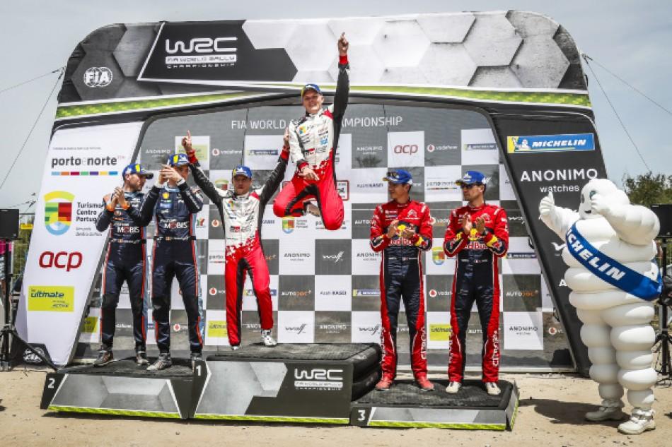 2019 Rally Portugal - Podium