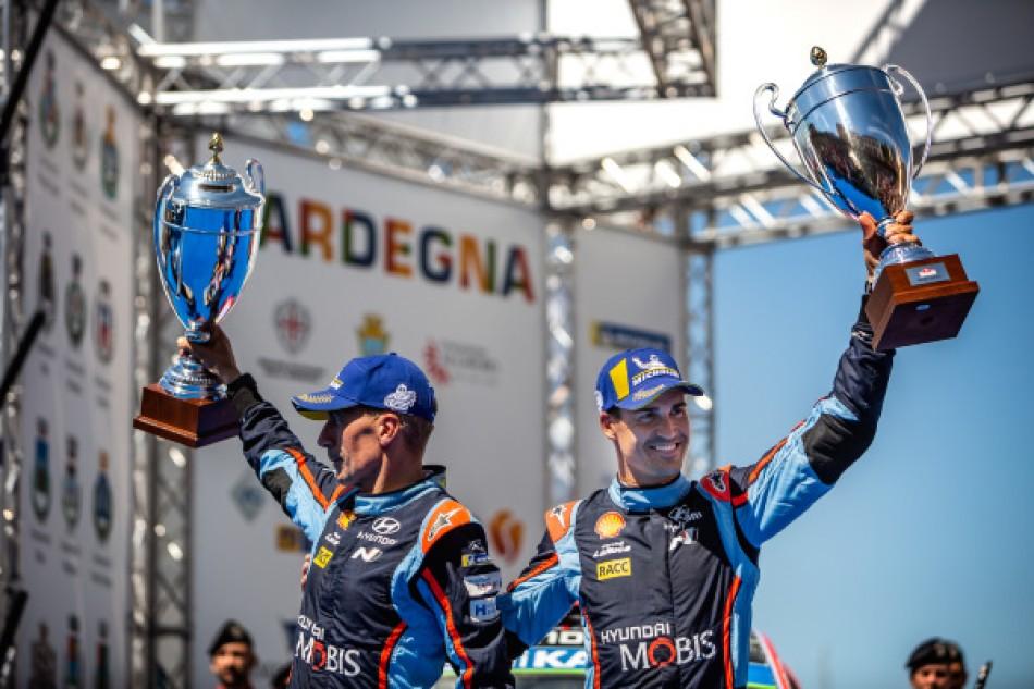 2019 Rally Italia Sardegna - D. Sordo / C. Del Barrio