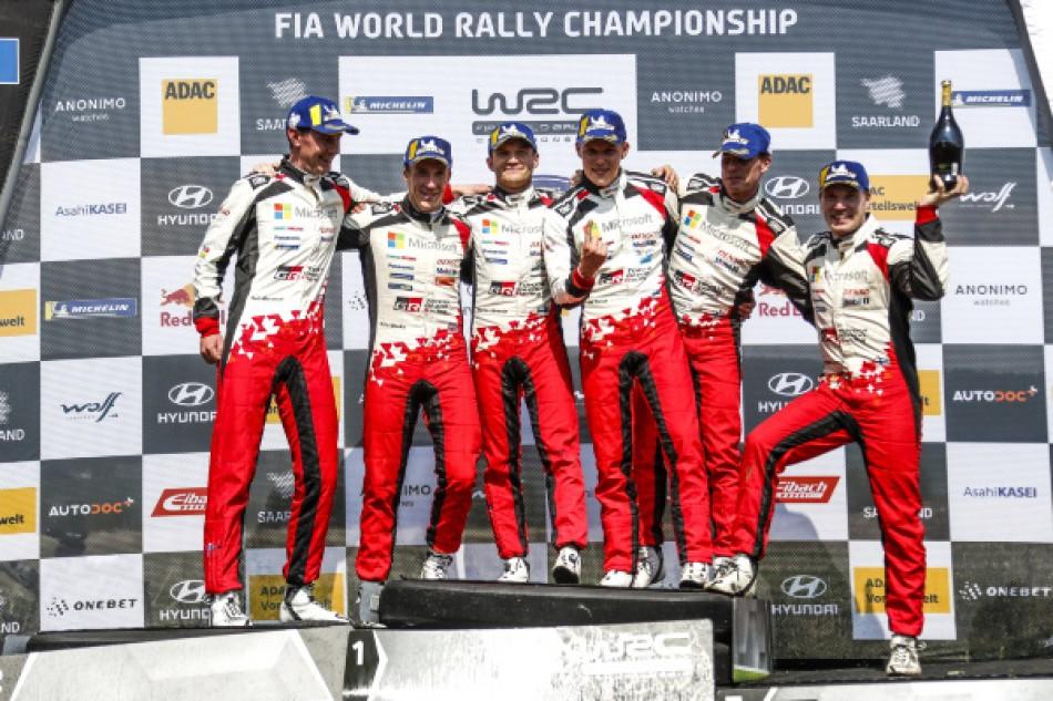 "WRC - Ott Tänak - ""The team's hard work is paying off."" thumbnail"