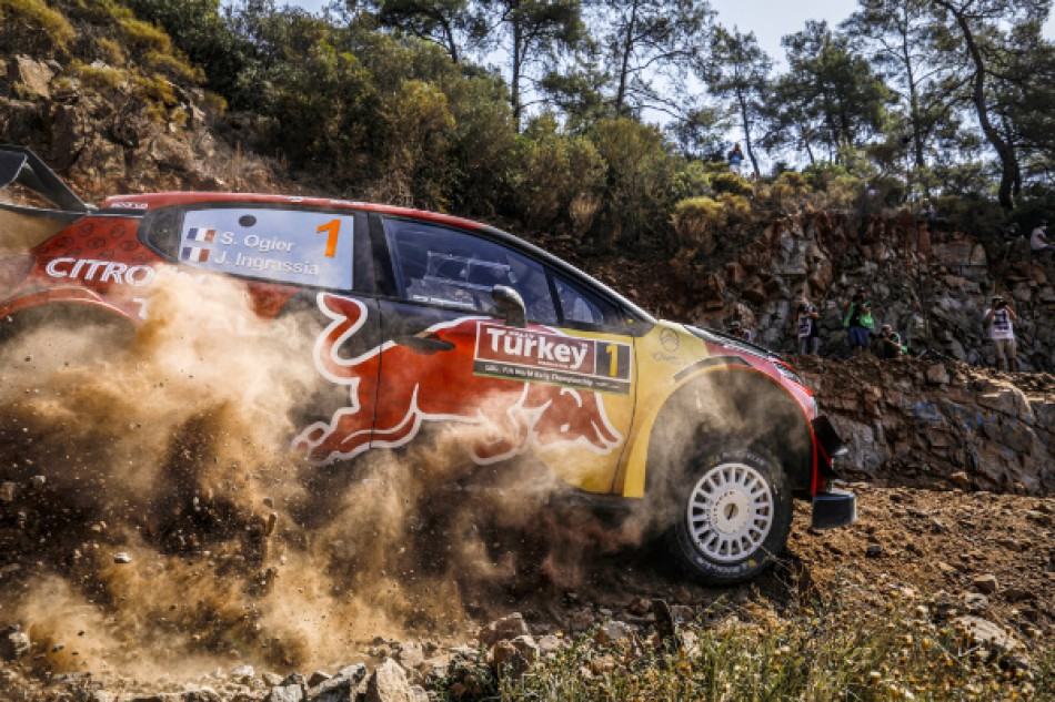 2019 Rally Turkey - S. Ogier / J. Ingrassia