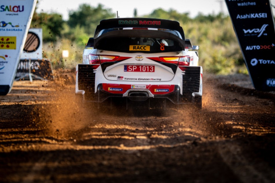 2019 WRC - Rally de Espana - O. Tänak / M. Järveoja