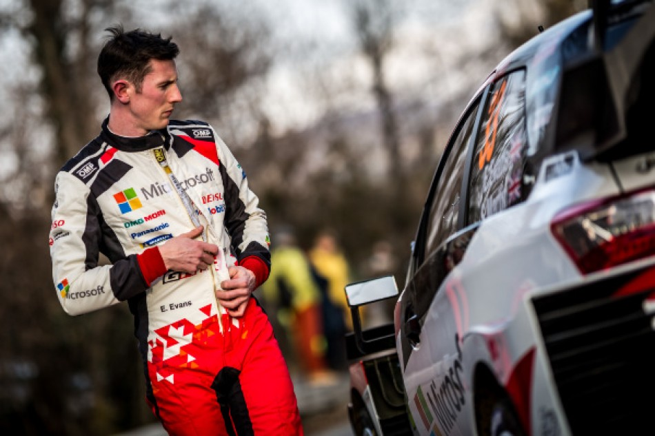 WRC – Evans on a payment reclaims Monte lead