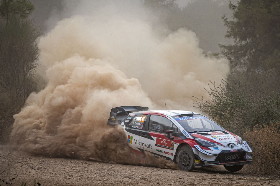 2020 WRC - Rally Turkey - E. Evans / S. Martin (Lenormand / DPPI)