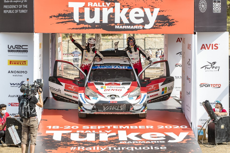 2020 WRC - Rally Turkey - 1st place E. Evans / S. Martin (Lenormand/DPPI)