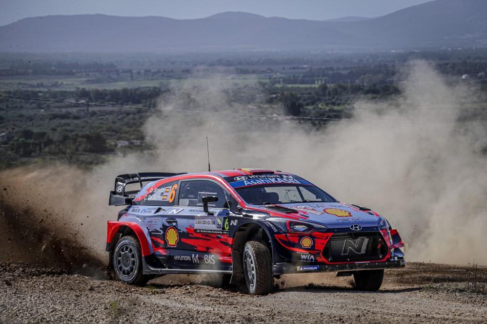 2020 WRC - Rally Italia Sardegna - D. Sordo / C. Del Barrio (Photo DPPI)