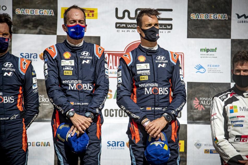 2020 WRC - Rally Italia Sardegna - D. Sordo / C. Del Barrio (DPPI Photo)