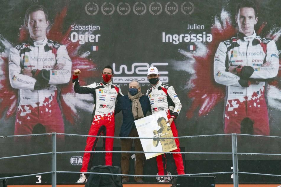 2020 WRC - ACI Rally Monza - S. Ogier/J. Ingrassia (DPPI photo)