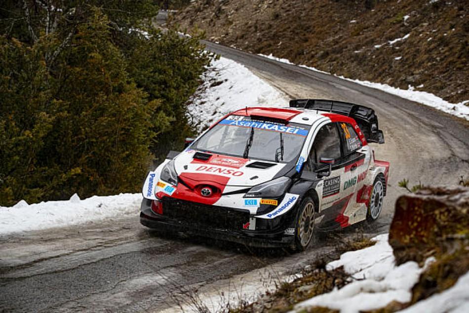 2021 WRC - Rallye Monte-Carlo - E. Evans/S. Martin (photo DPPI)