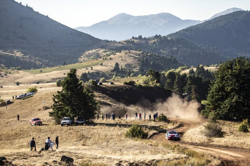 2021 WRC - Acropolis Rally Greece - S. Ogier / J. Ingrassia (DPPI / Nikos Katsikis)