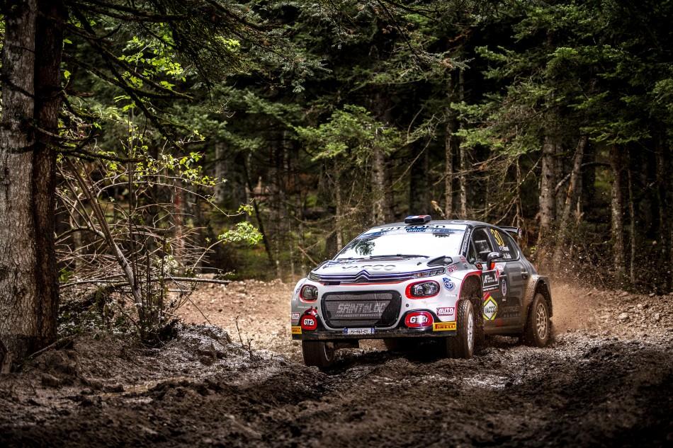 2021 WRC - Acropolis Rally Greece - Y. Rossel, Citroën C3 Rally2 (DPPI / Nikos Katikis)
