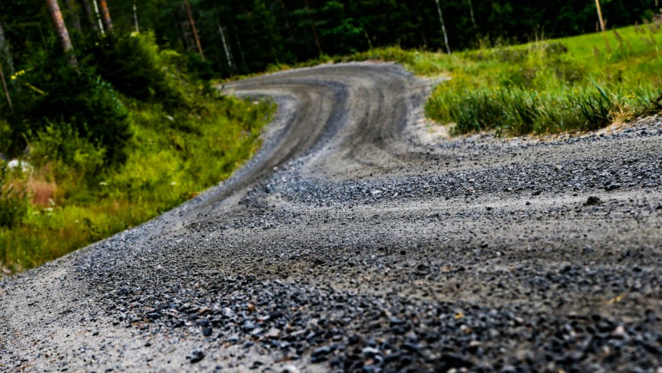 Rally Finland special stage