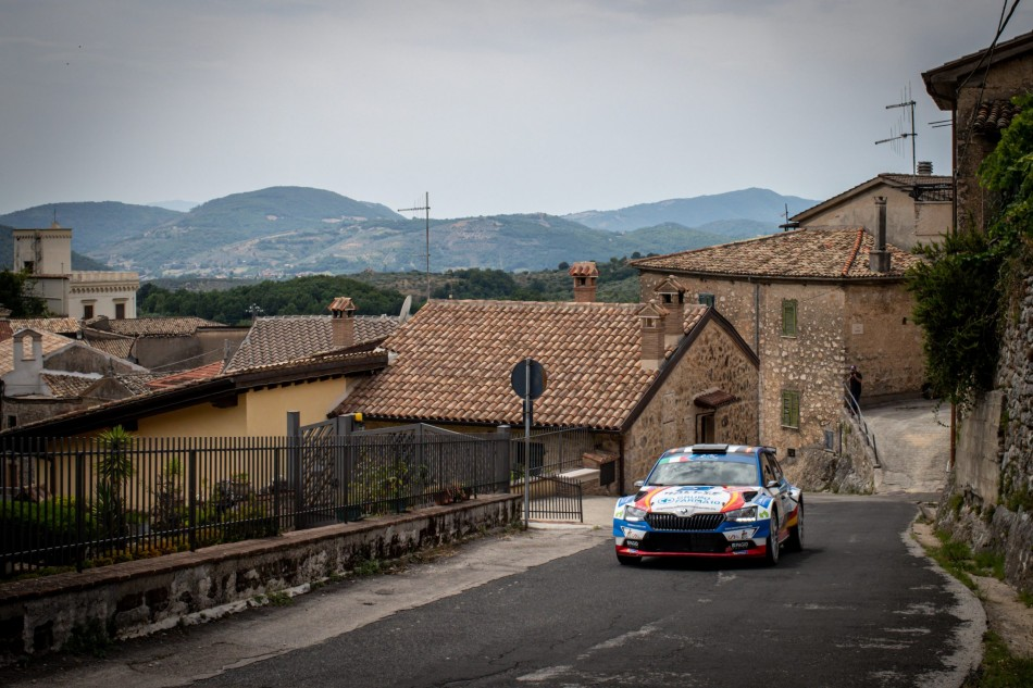 ERC 2020 - Barum Czech Rally Zlin - Efren/Llarena (Photo Eurosport Events)