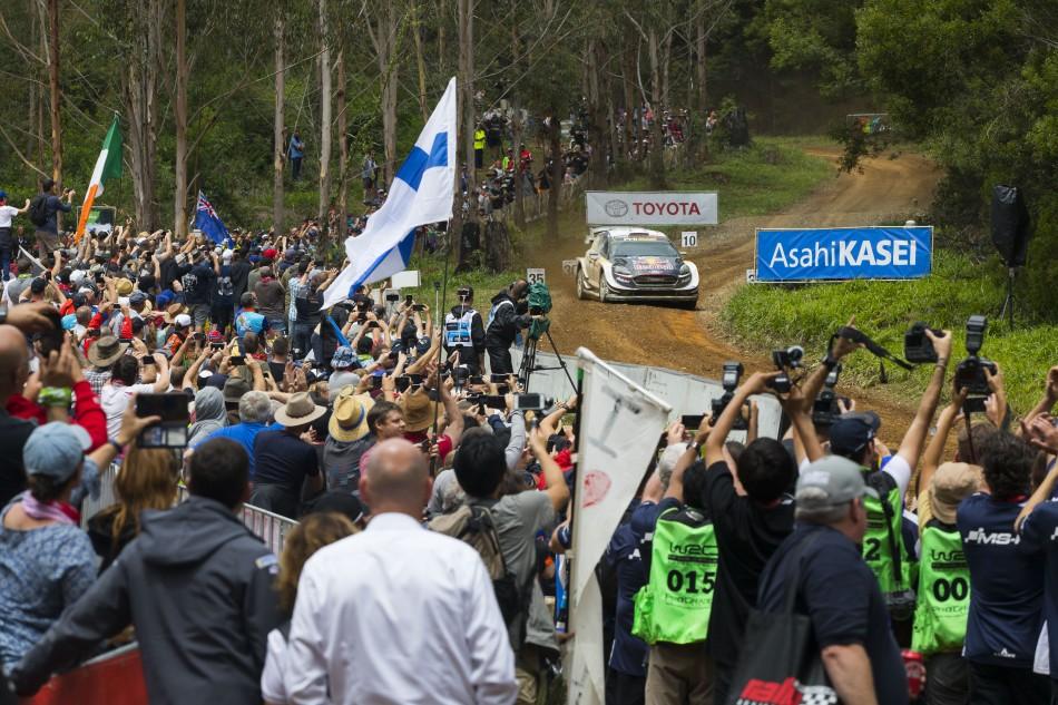 2018 World Rally Championship - Rally Australia - S. Ogier / J. Ingrassia