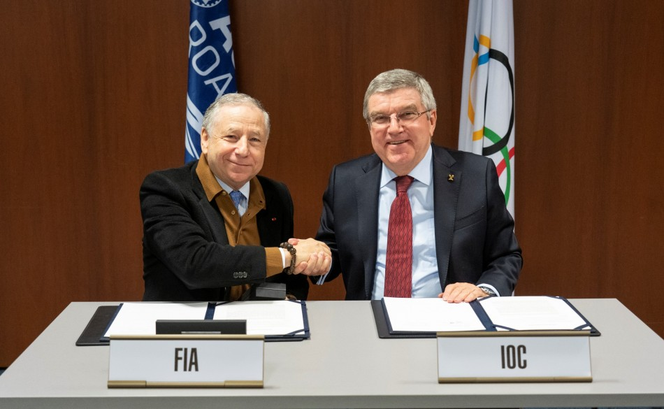 fia partners with olympic channel federation internationale de l 39 automobile. Black Bedroom Furniture Sets. Home Design Ideas
