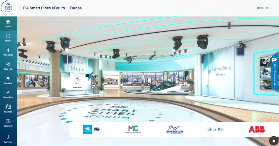 FIA smart cities eforum Europe, platform