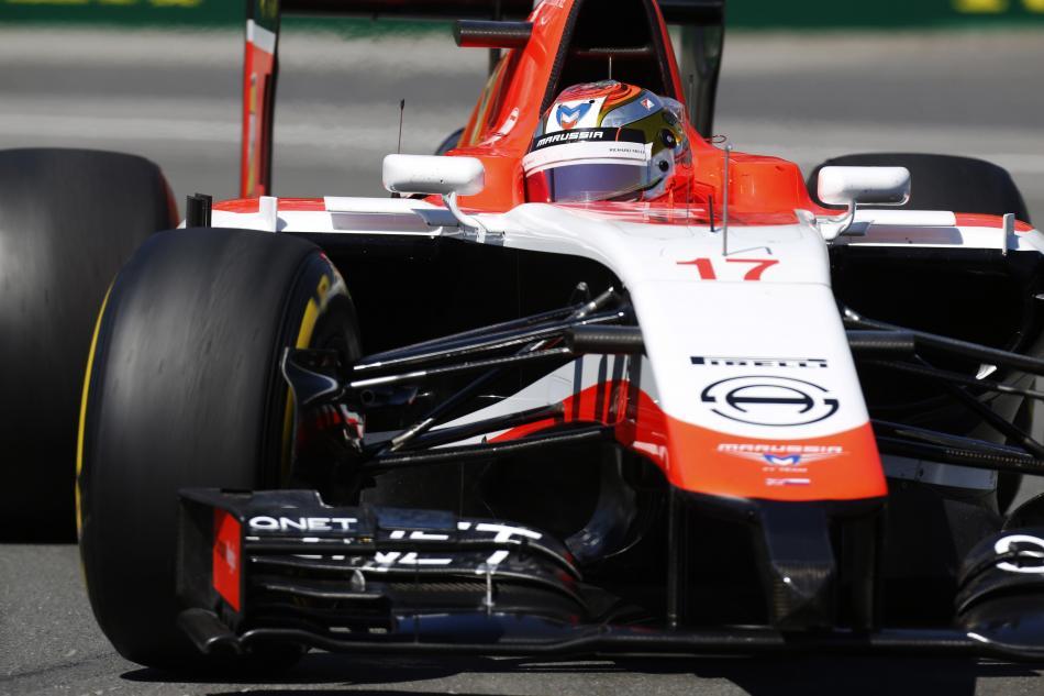 Jules Bianchi number 17