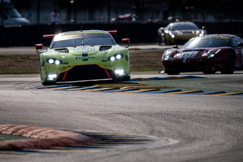 Wec Toyota And Aston Martin Fastest In Fp1 At Le Mans Federation Internationale De L Automobile