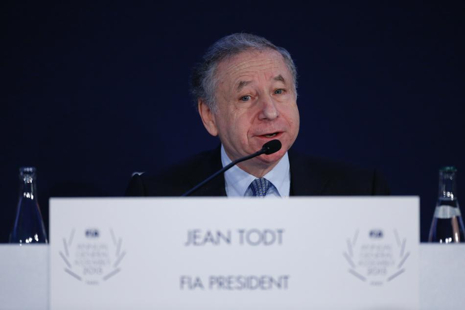 General Assembly Jean Todt