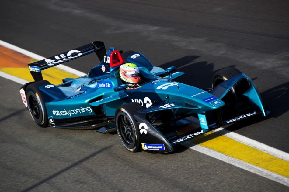 Nio Formula E Team Driver Oliver Turvey Rounded Off The Week Of Official Fia Formula E Championship Pre Season Testing In Valencia By Finishing Top Of The