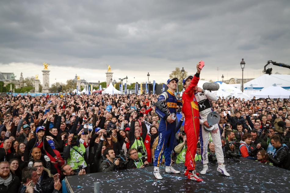 Formula E, Paris ePrix, lucas di grassi, winner