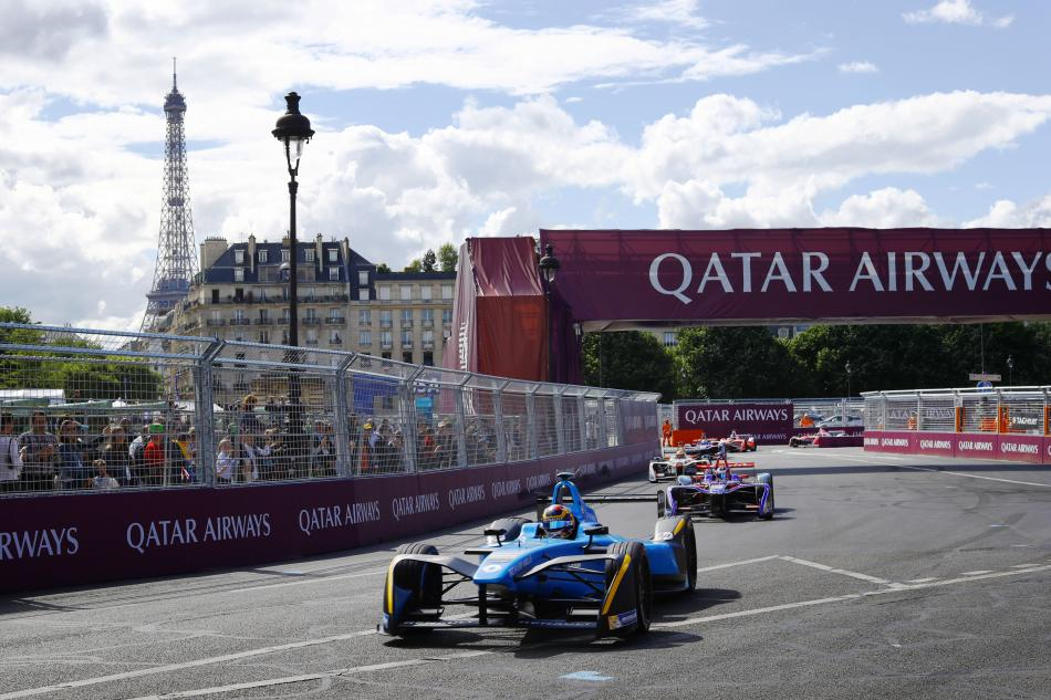 formula e buemi brings a home win for renault in paris eprix federation internationale de l. Black Bedroom Furniture Sets. Home Design Ideas