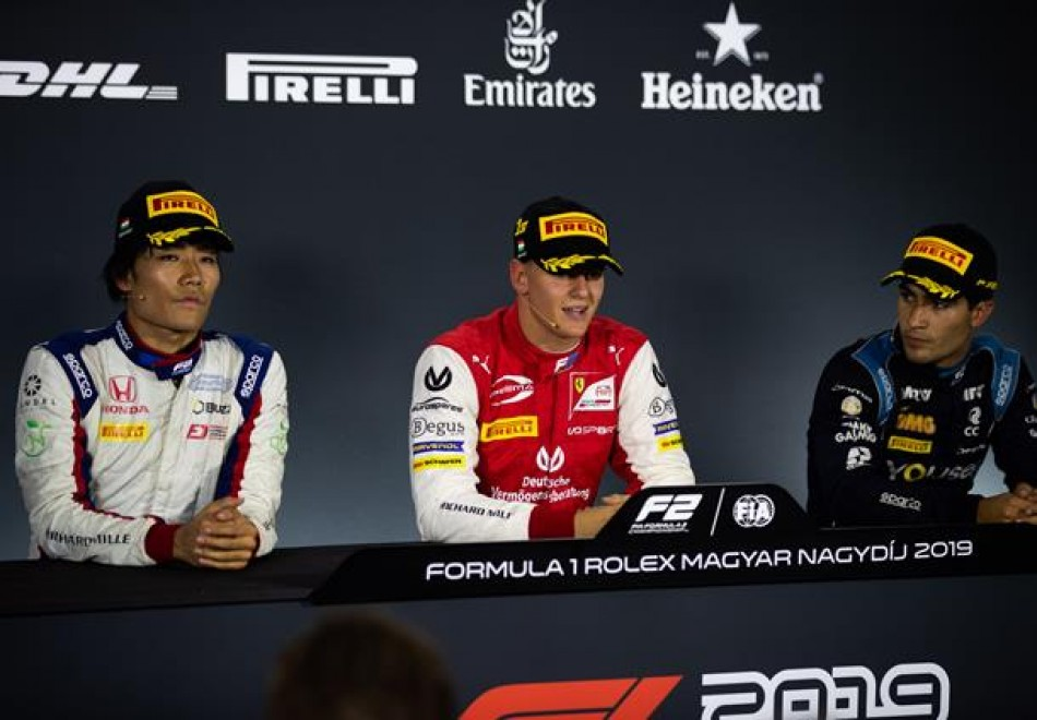 F2 - Post-Sprint Race Press Conference thumbnail