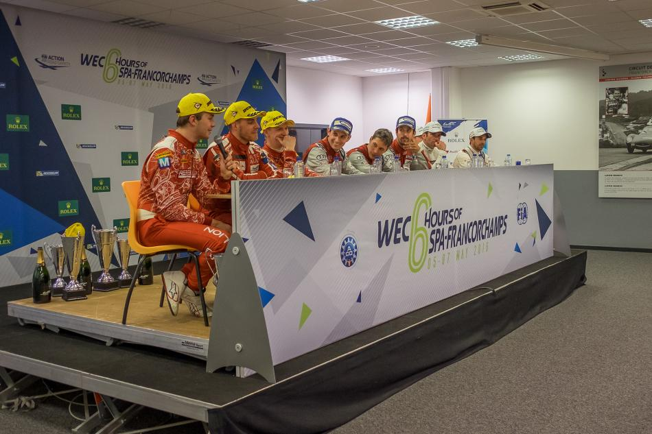 WEC, WEC 6 Hours of Spa-Francorchamps, press conference