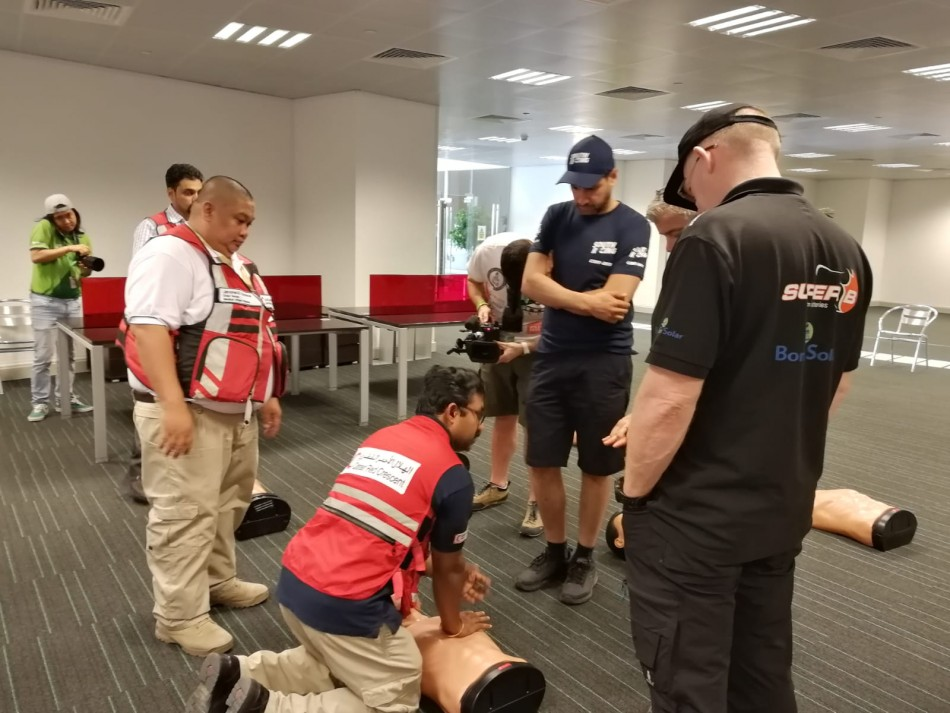 Cross Country First Aid training