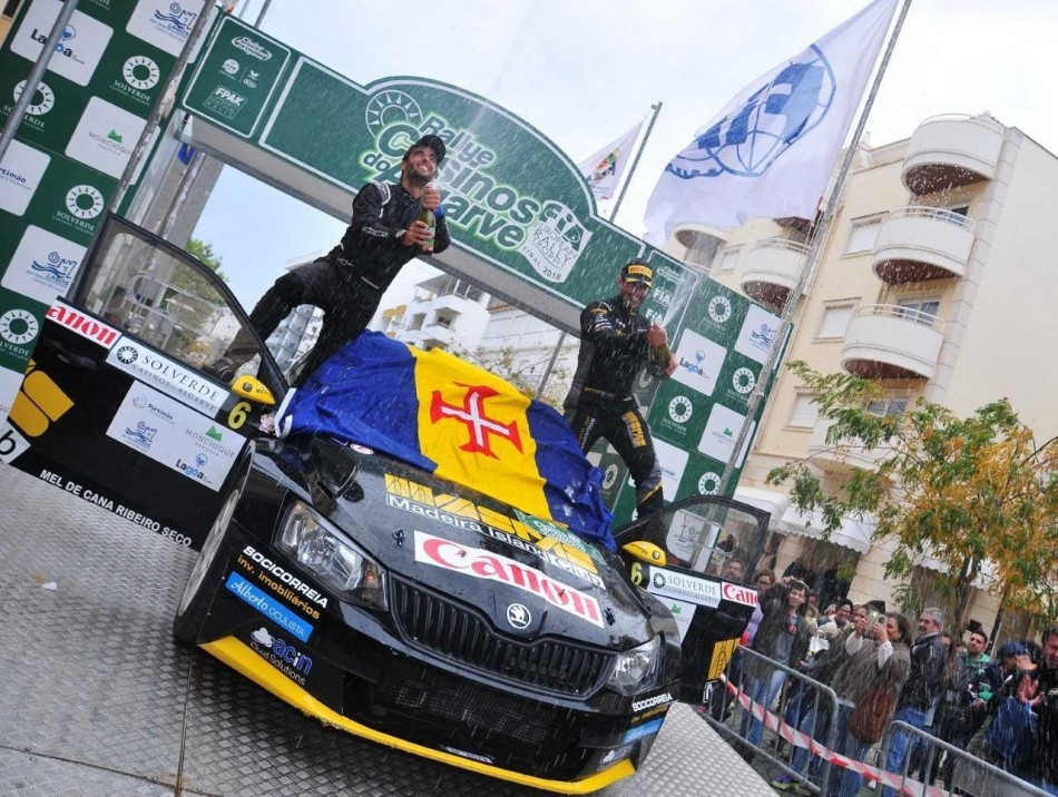 2018 ERT Final - Rali Algarve - A. Camacho / R. Rodrigues