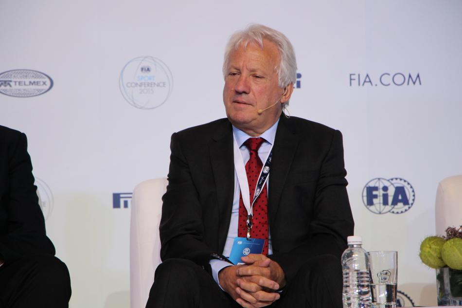 Charlie Whiting Twitter: F1 2016 Changes - Charlie Whiting Interview
