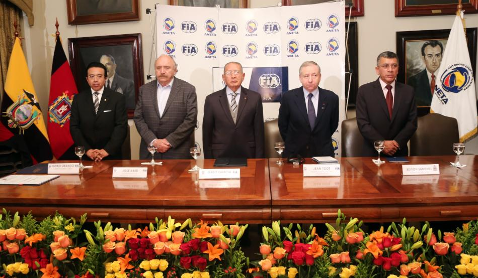 Jean Todt visits Latin America