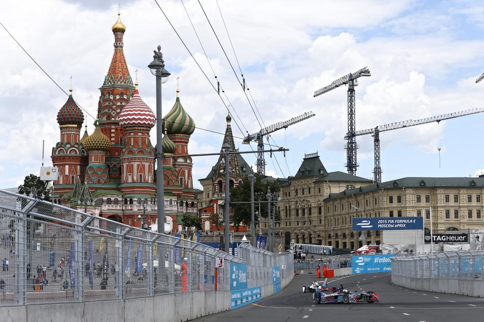 formula E, Moscow