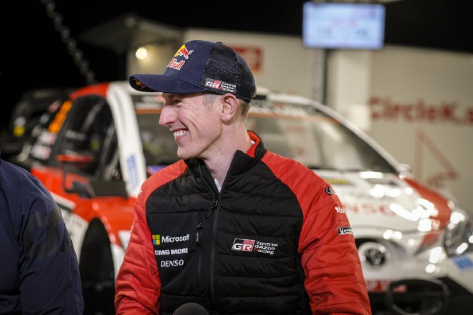 2020 WRC - Rally Sweden - Elfyn Evans (photo DPPI)