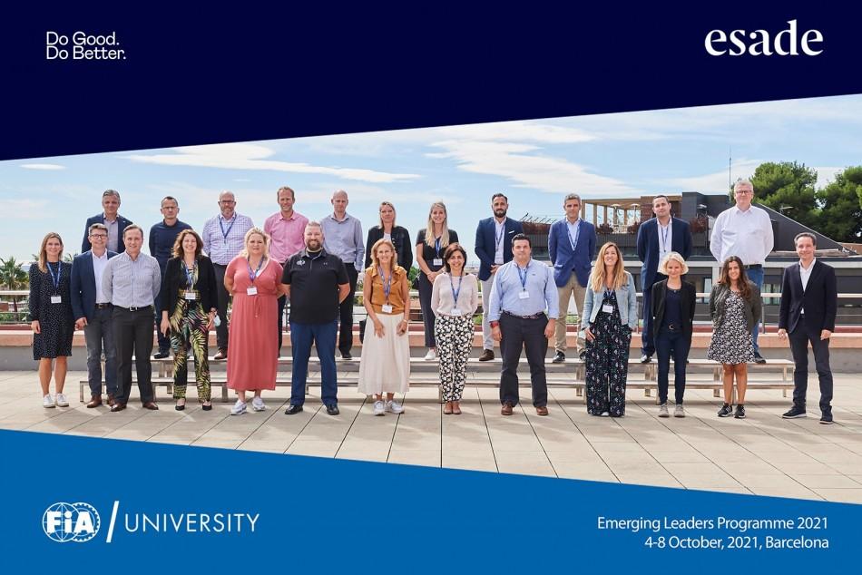 fia university, emerging leaders programme
