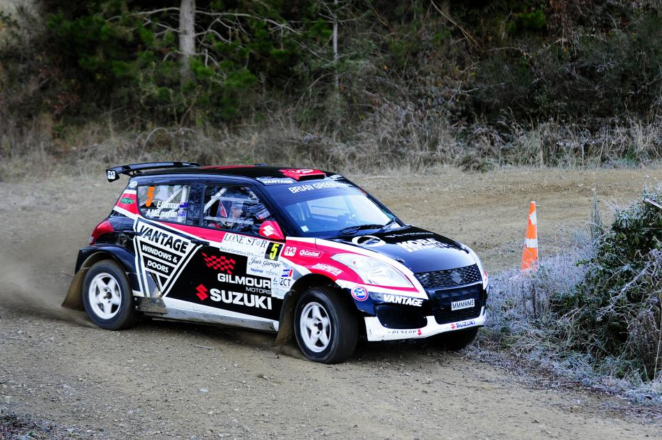 Emma Gilmour wins the Rally of Canterbury