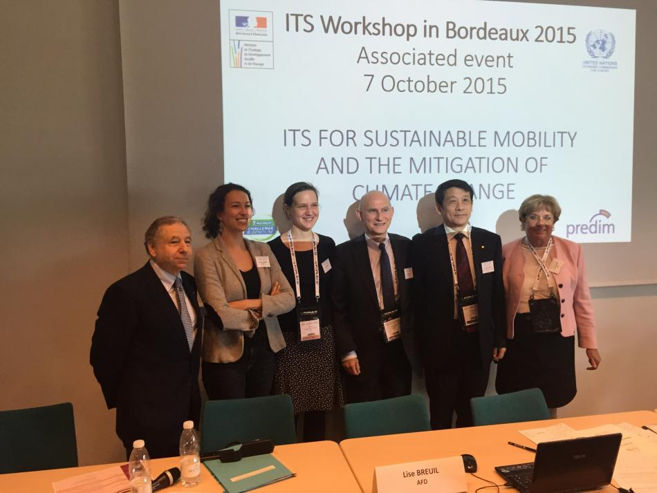 FIA President Jean Todt at the 2015 ITS World Congress in Bordeaux
