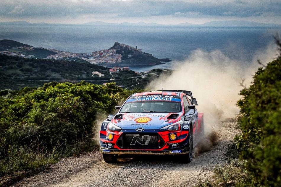 2020 WRC - Rally Italia Sardegna - D. Sordo/C. Del Barrio (DPPI)