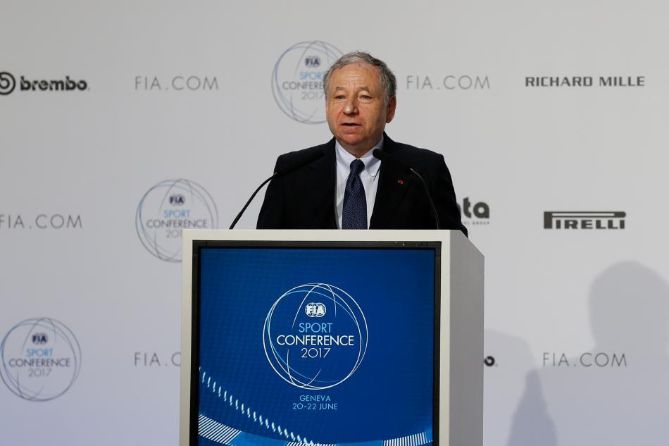 Jean Todt, Todt, FIA, Sport Conference