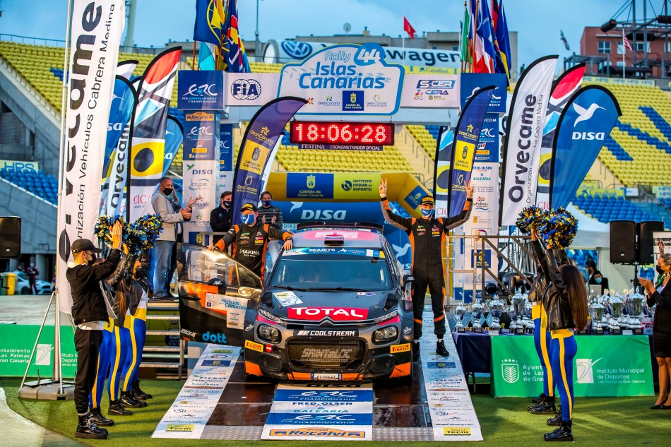 2020 ERC - Rally Islas Canarias - A. Lukyanuk / A. Arnautov (photo FIA ERC)