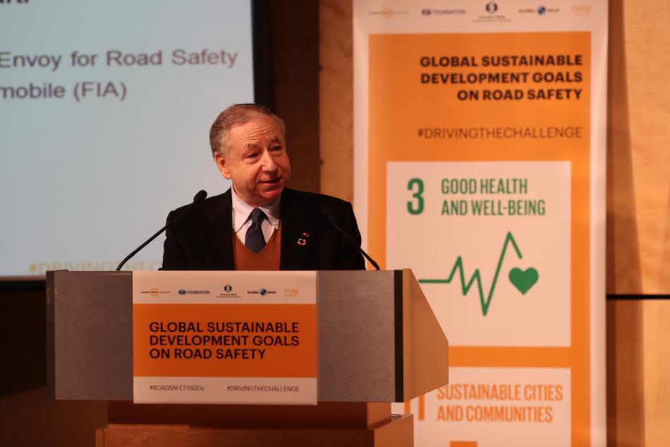 Jean Todt, Road Safety, FIA President