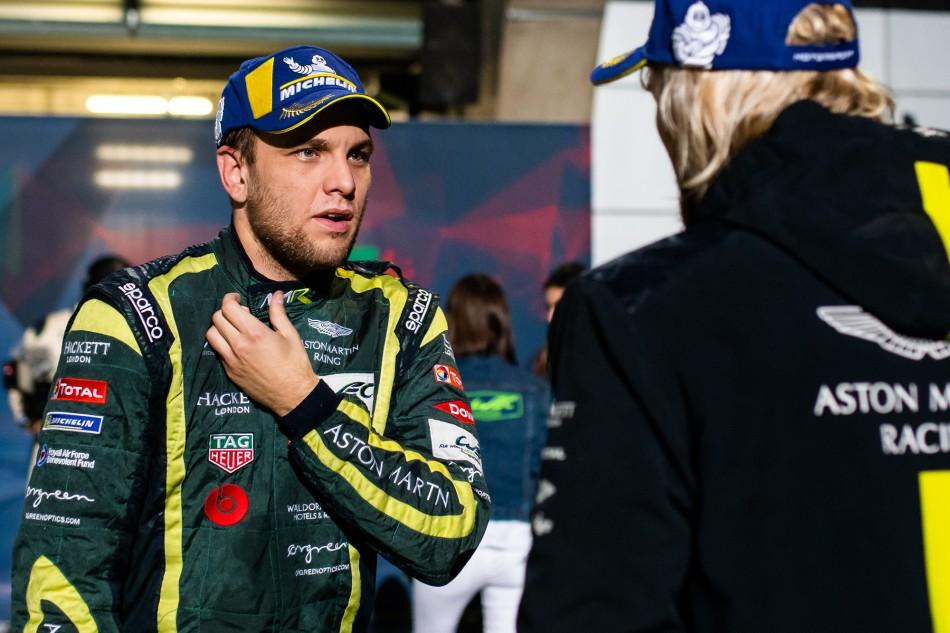 Wec Interview With Aston Martin Racing S Marco Sørensen Federation Internationale De L Automobile