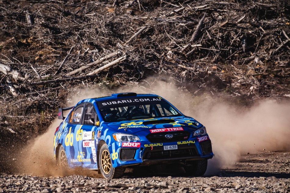 FIA APRC Pacific Cup - Rally Tasmania - M. Taylor / M. Read (photo Aaron Wishart)