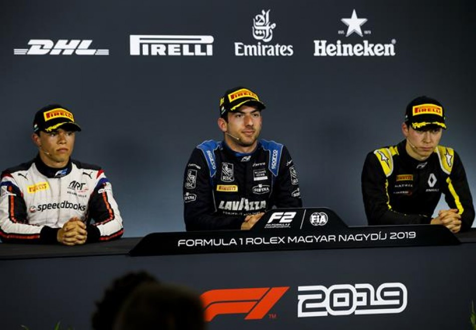 F2 - Post-Feature Race Press Conference thumbnail
