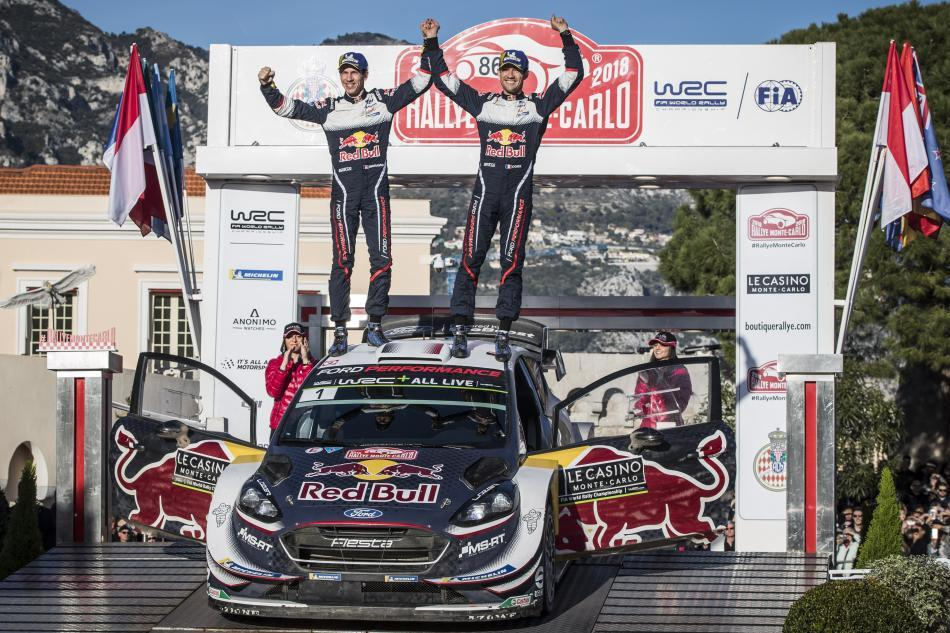 WRC - Fifth Consecutive Monte-Carlo win for Ogier & Ingrassia ...