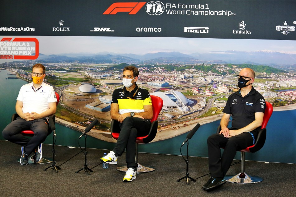 Sister In Heineken Christmas Commercial 2020 F1   2020 RUSSIAN GRAND PRIX   FRIDAY PRESS CONFERENCE