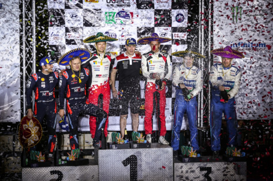 2020 WRC - Rally Mexico - Podium