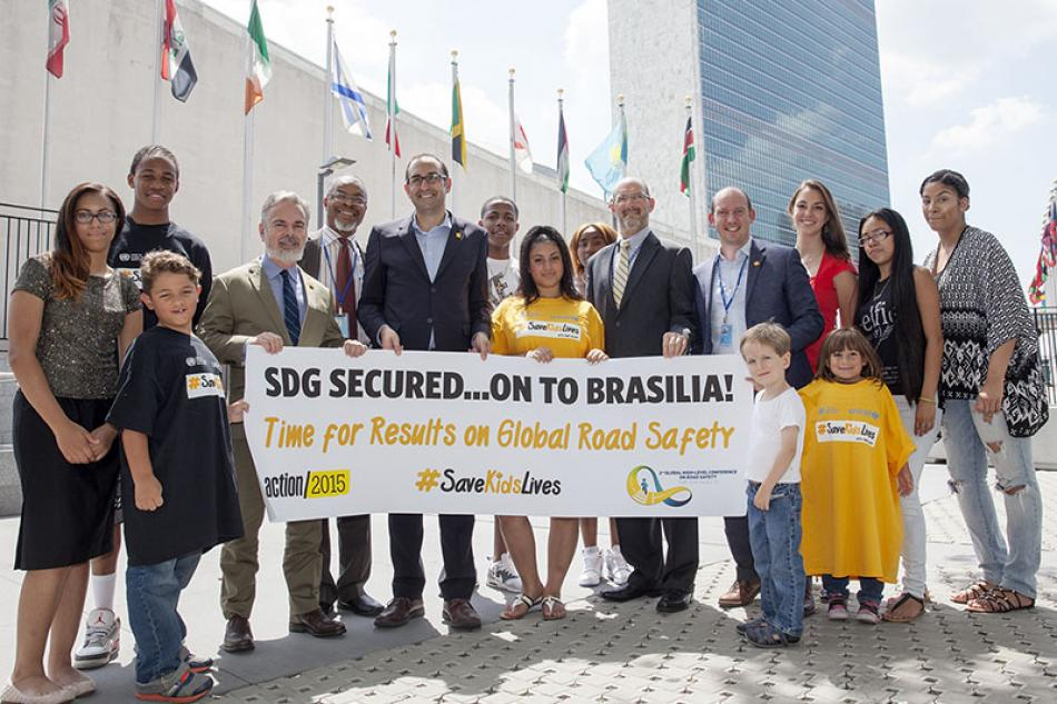 SDG Road Safety objective secured
