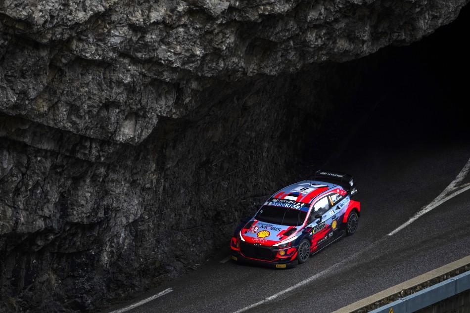2021 WRC - Rallye Monte-Carlo - O. Tänak/M. Wydaeghe (photo Red Bull Content Pool)