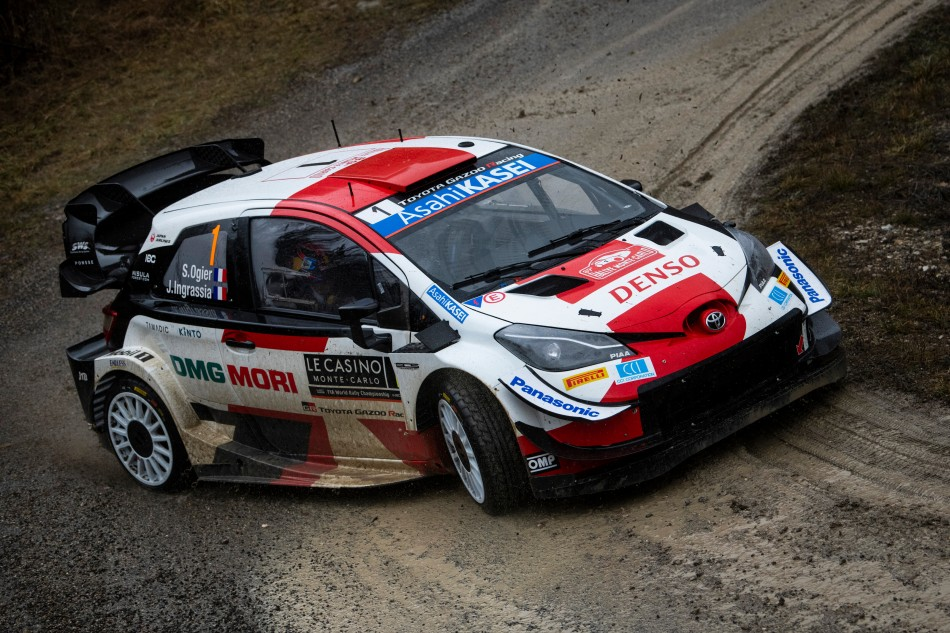 2021 WRC - Rallye Monte-Carlo - S. Ogier / J. Ingrassia (photo Jaanus Ree / Red Bull Content Pool