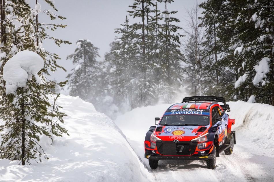 2021 WRC - Arctic Rally Finland - O. Tänak / M. Järveoja (photo Jaanus Ree / Red Bull Content Pool)